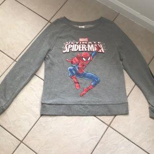 Spider-man sweater!